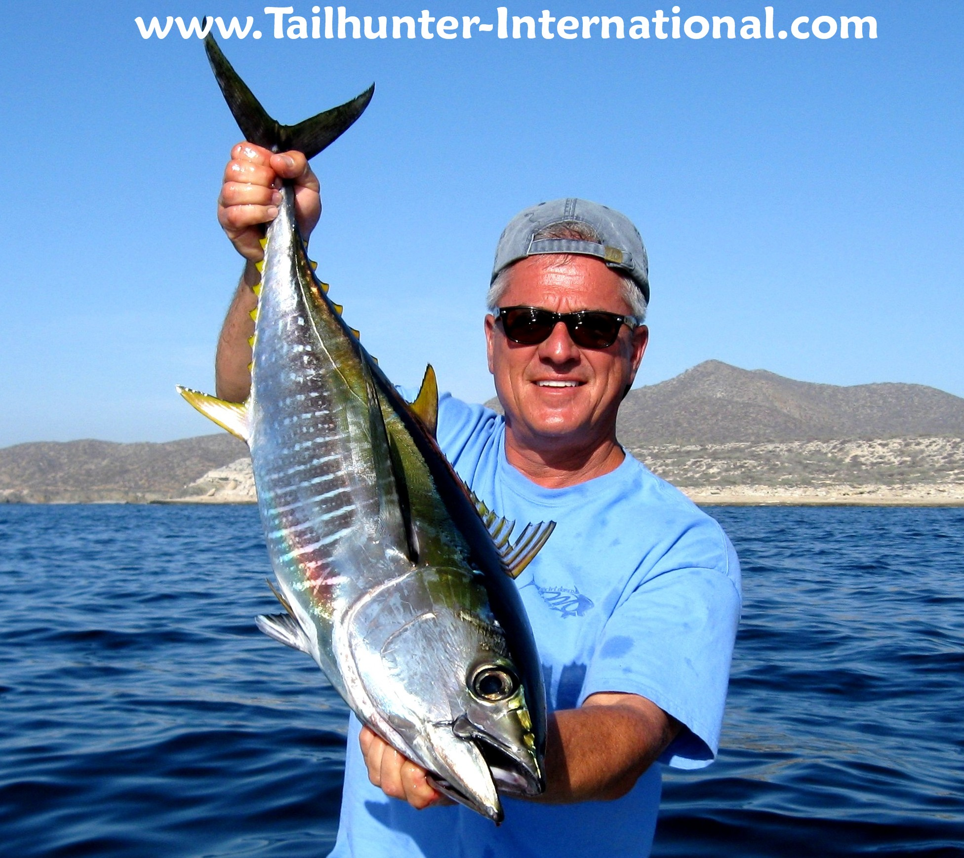 La paz las arenas fishing report from tailhunter for San diego tuna fishing