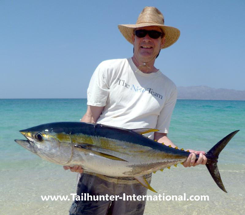 La paz las arenas fishing report from tailhunter for Jds fish report