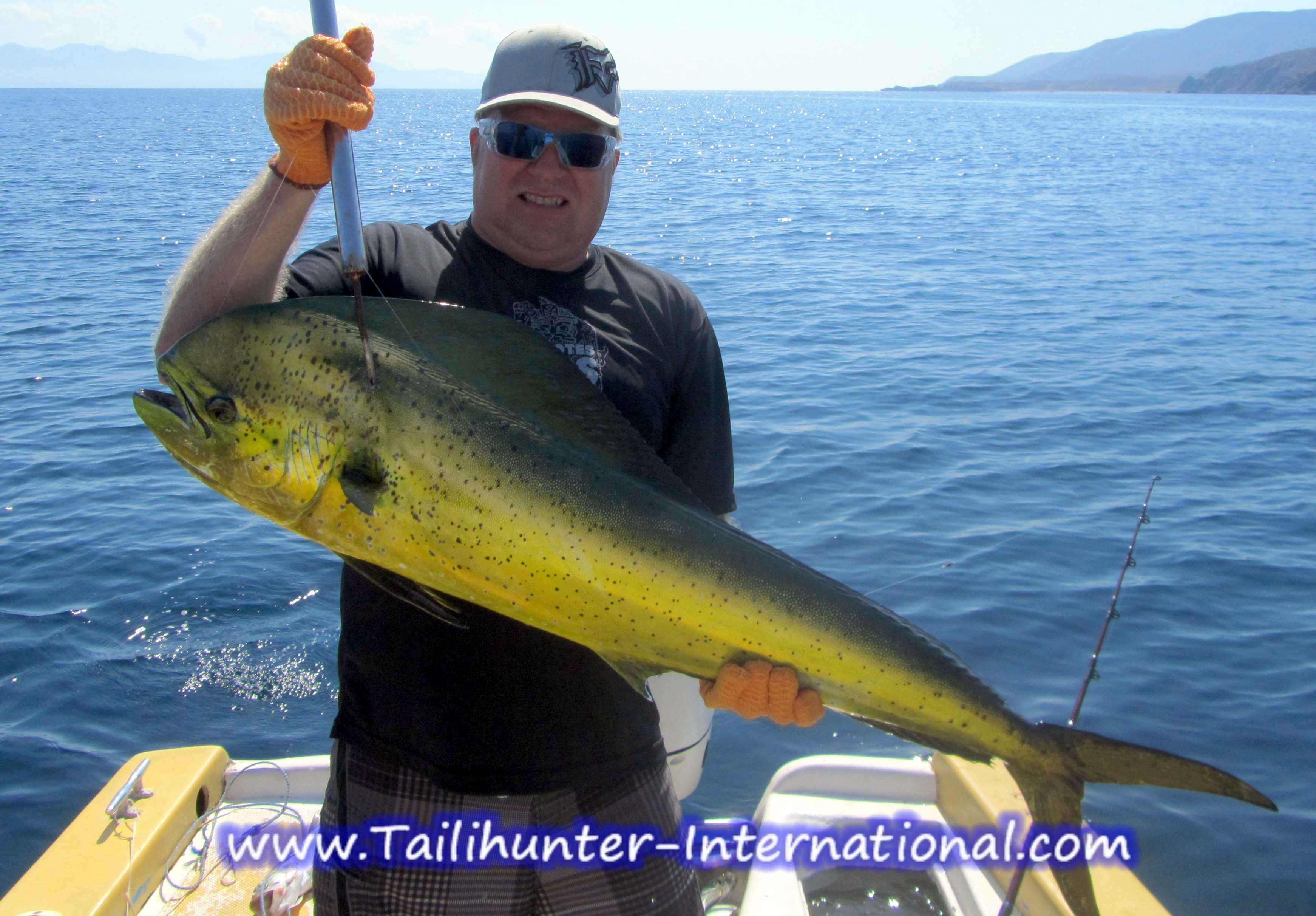 La paz las arenas fishing report from tailhunter for Davey s locker fishing report