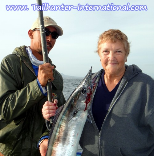 Gail Pancho with Wahoo tags 12-12 2