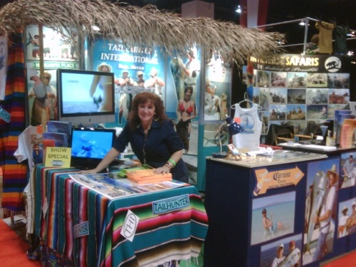 Jilly is set up and ready to go.  See you in Portland, Oregon this week!