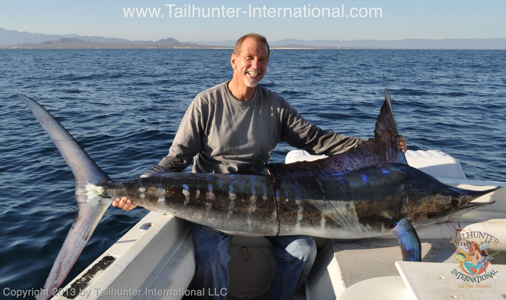 Stiriped marlin tailhunter fish report for Fishpond fishing