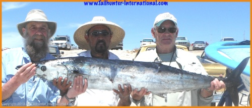 Brown wahoo 4-13  tags