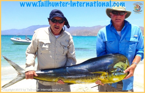 Bob Jennessee and Kirt Schlander tags 6-13 dorado-proc
