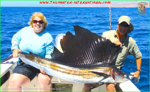 Sharon Virgin sailfish tags 9-13 small