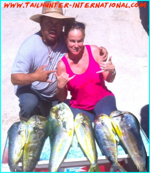 Tim and Taylor 10-13 small dorado tags-proc