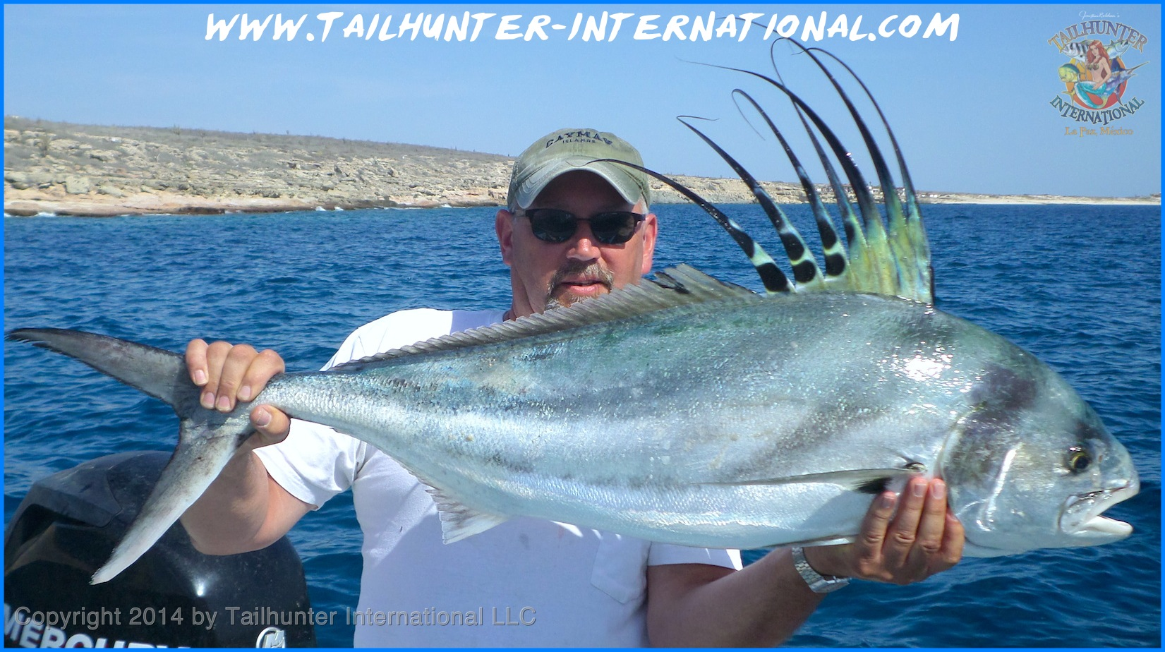 Rooster don swenson 5 14 small tags for La paz fishing report