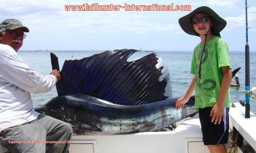 Garrett santana sailfish tags 6-14 small