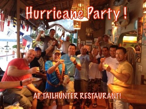HURRICANE PARTY!