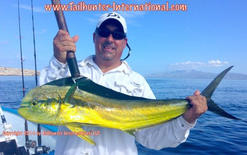Jennings mike tags small dorado 9-14