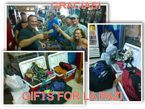 GIFTS FOR LA PAZ