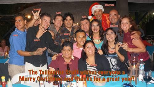 Christmas greetings group