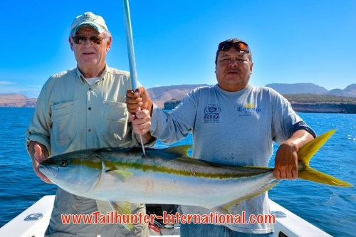 Jeff Brown tags yellowtail 3-15