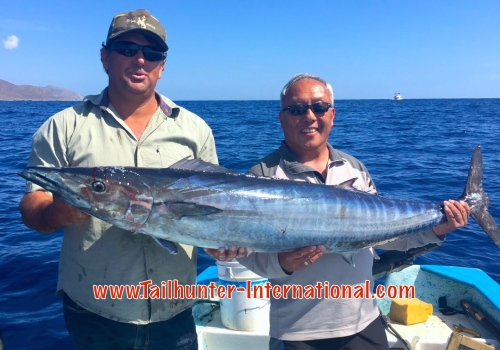 Gary Tsunoda tags small wahoo 4-15