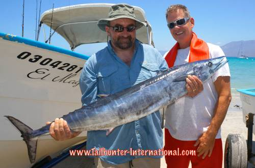Dave Lindell Pat McDonell tags 6-15 wahoo