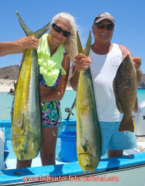 Michele and Dave Conklin tags day 2 dorado 6-15