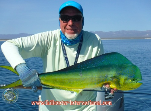 Randy skedgel tags flyfish dorado 7-15