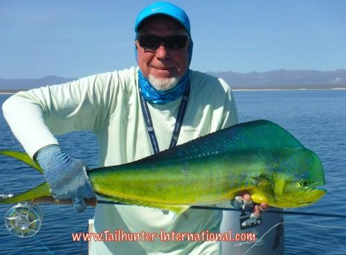 Randy skedgel tags flyfish dorado 7-15