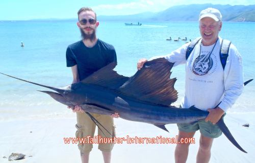 Dave Enge Josh Swanson sailfish tags 9-15