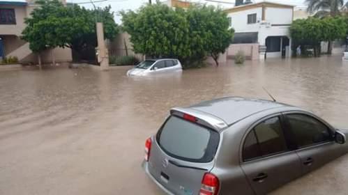 cars underwater