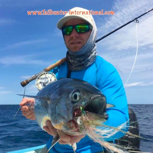 Damon Harvey flyfishing bonito tags 4-16