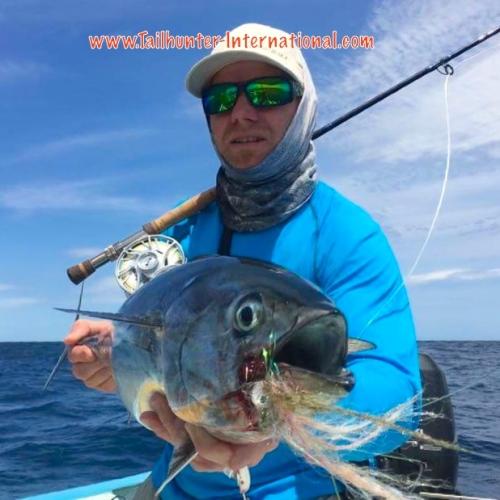 Damon Harvey flyfishing bonito tags 4-16