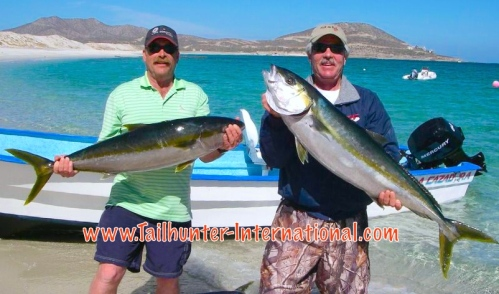 Gary Wagner and Ken Ward from AK yellowtail 4-16