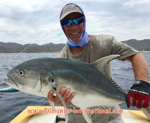 Mark Bonsack tags jack crevalle 4-16