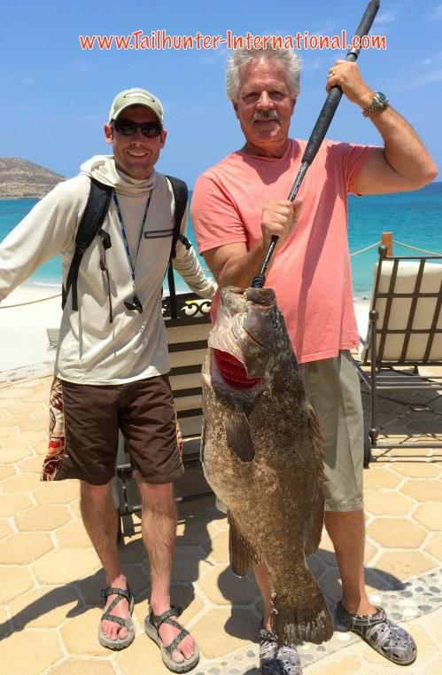 Eric Davignon grouper cabrilla 5-16 tags