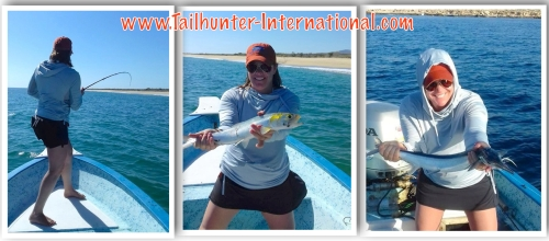 Laura Page on the flyrod tags 5-16