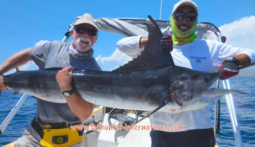 Ken striped marlin pancho tags 7-16