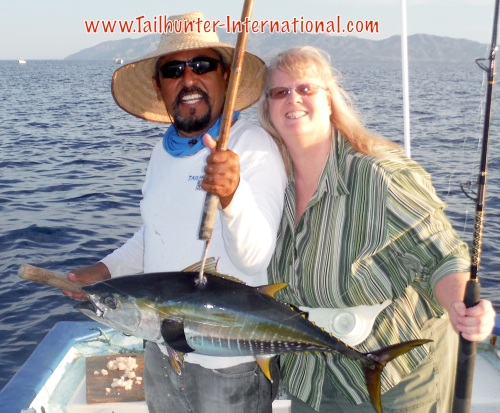 Debbie Champley 9-16 tuna Jorge tags