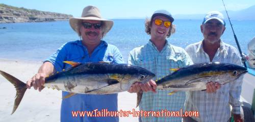 Joe and Francisco Schimeck from Grass Valley CA got into the tuna too. Joe came back a 2nd day and got wahoo and more tuna!