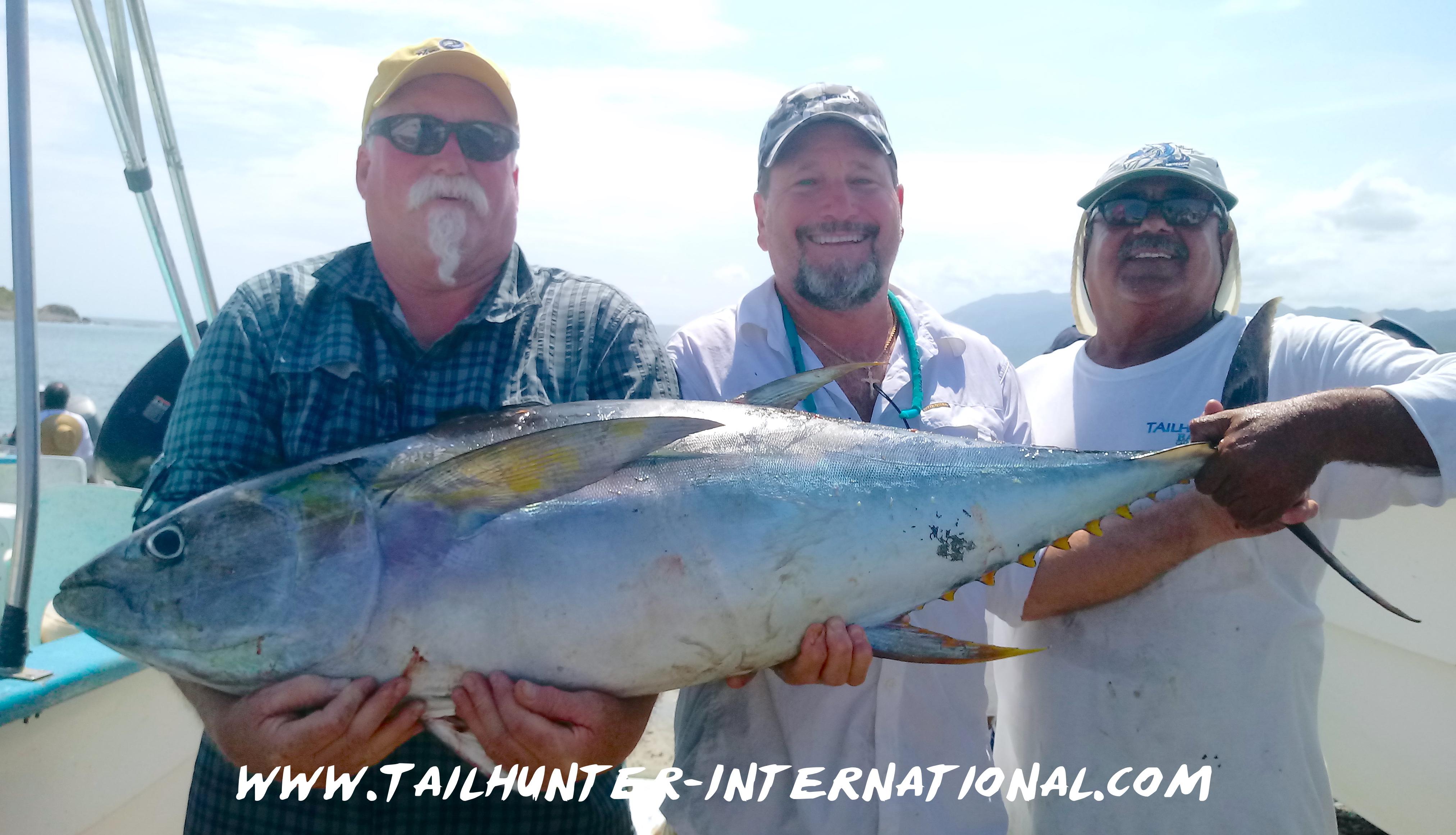 Tailhunter fish report la paz baja california sur mexico for Fishing report mexico beach fl